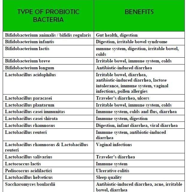 Probiotics – the Good Bacteria  A look at the many health benefits of probiotics…