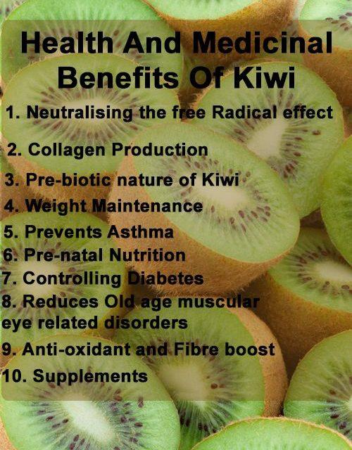 Top 10 Health And Medicinal Benefits Of Kiwi