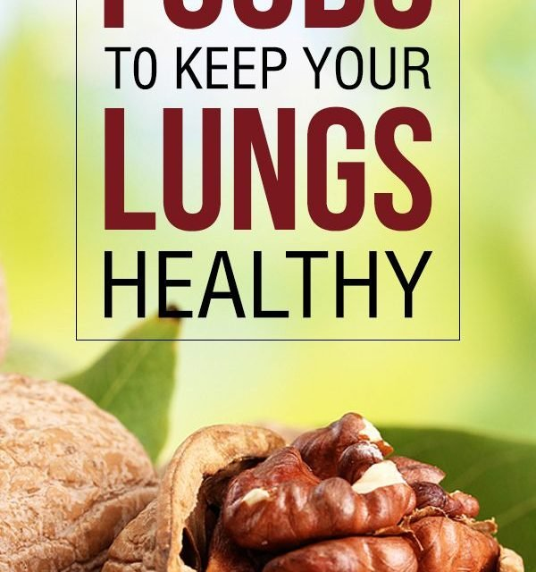 We can also keep our lungs healthy by eating food that is good for the lungs. A …