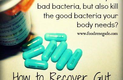 Antibiotics have long-term impacts on gut flora