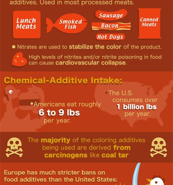 The Truth About Food Additives (Infographic)