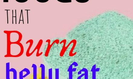 10 foods that burn belly fat -trimsummerbody lose belly fat !