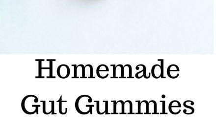 Homemade Watermelon Lemonade Gut Gummies, healthy candy for improved gut health …