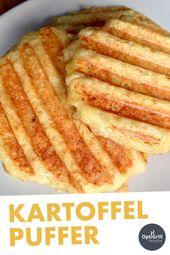 Kartoffelpuffer grillen