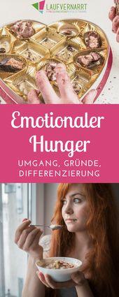 Emotionaler Hunger – Gründe, Differenzierung, Umgang – Laufvernarrt