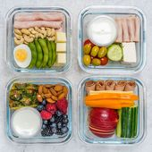 Meal Prep Bento Boxes 4 Different Ways (Clean Eating on the Go!)