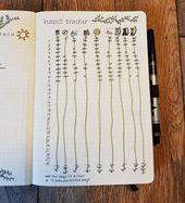 18 Genius Bullet Journal Tracker, die Sie diesen Monat ausprobieren müssen – Fast ein Chaos