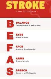 BE FAST: Understanding Stroke Symptoms – RunToTheFinish