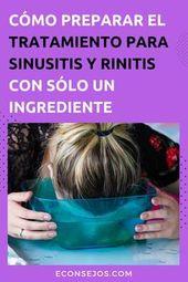 Cómo hacer el tratamiento de sinusitis (y rinitis) para aliviar los síntomas en casa