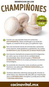5 increíbles beneficios de los champiñones para tu salud – Cocina Vital – ¿Qué cocinar hoy?