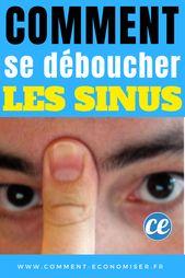 Déboucher Vos Sinus en 20 Secondes Avec Votre Langue et Votre Doigt.