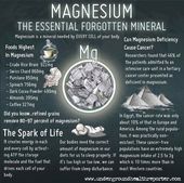 Magnesium- The Forgotten Mineral – PositiveMed