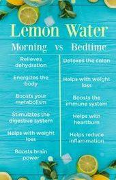 Drinking Lemon Water: Morning vs Bedtime – Gulf Coast Wellness
