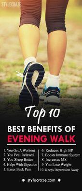 10 Amazing Health Benefits Of Evening Walk