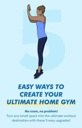East Ways To Create Your Ultimate Home Gym